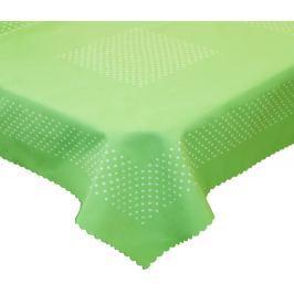 Forbyt, Ubrus s nešpinivou úpravou Exclusiv zelený 130 x 160 cm