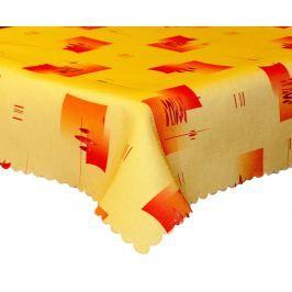 Forbyt, Ubrus s nešpinivou úpravou Anes, oranžovožlutý 100 x100 cm