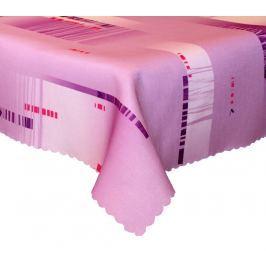 Forbyt, Ubrus s nešpinivou úpravou, Metrix fialový pr.120 cm