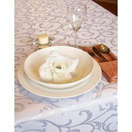 Forbyt, Ubrus s nešpinivou úpravou, žakárový, bílý 120 x 140cm
