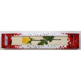 FORBYT, Ručník v ozdobné kazetě, Růže, žlutá