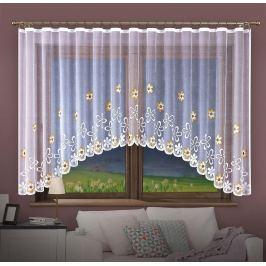 Forbyt, Hotová záclona, Chloris, béžová 350 x 150 cm