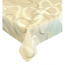 Forbyt, Ubrus s nešpinivou úpravou, Grácie, béžová 120 x 160 cm