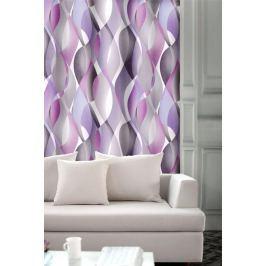 Forbyt, Závěs dekorační, OXY Hawaii 2, fialovo-šedý, 150 cm