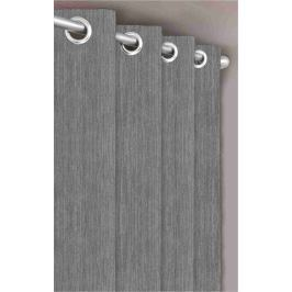 Forbyt, Dekorační látka nebo závěs, Blackout Žihaný, světle šedý, 150 cm