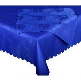Forbyt, Ubrus s nešpínivou úpravou, Protiskluzový Růže, tmavěmodrý 160 x 220 cm