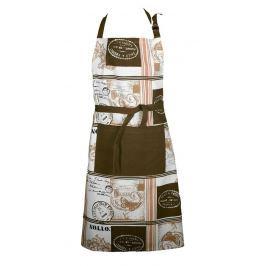 Forbyt, Zástěra kuchyňská, Paris Vintage, hnědá