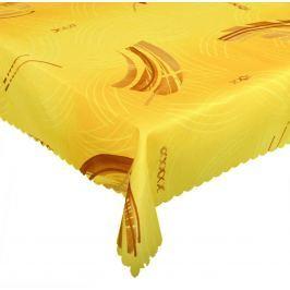 Forbyt, Materiał: 100% poliester apletura plamodporna Kolor: odcienie pomarańczowe i żółte Różne roz 120 x 140cm