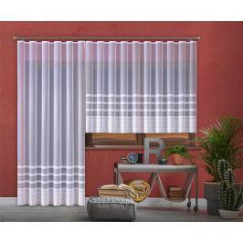 Forbyt, Hotová záclona nebo balkonový komplet, Martina, bílá 200 x 250 cm