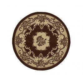 Koberec Marrakesh Brown Circle 140 cm