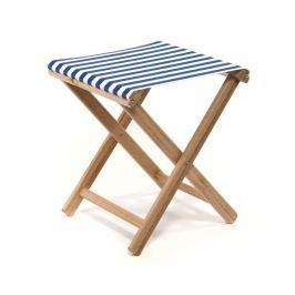 Skládací židlička Joy Striped Blue White