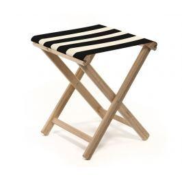 Skládací židlička Joy Black Natural