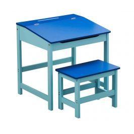Sada psací stůl a židlička Julyan Blue