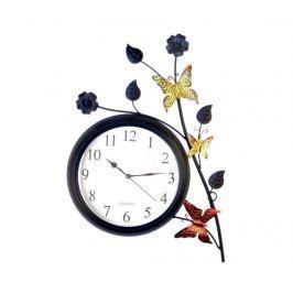 Nástěnné hodiny Magic Butterflies