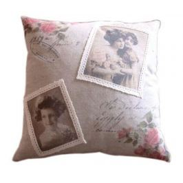 Dekorační polštář Rose Girls 40x40 cm