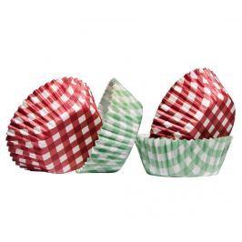 Sada 60 forem na pečení muffinů Gingham