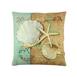 Dekorační polštář Starfish Seashell 43x43 cm