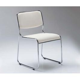 Sada 4 židlí Match White