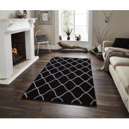 Koberec Elements Black 120x170 cm