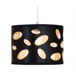 Závěsná lampa Spots Black