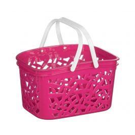 Koš Leaves Pink S