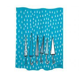 Sprchový závěs Umbrellas Blue 180x200 cm