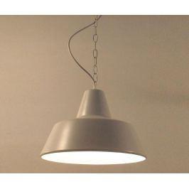 Závěsná lampa Loft White