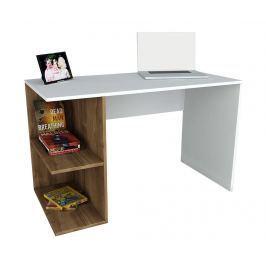 Pracovní stůl Spencer White Walnut
