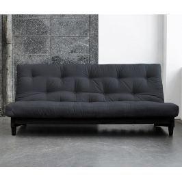 Rozkládací pohovka Fresh Wenge & Grey 140x200 cm