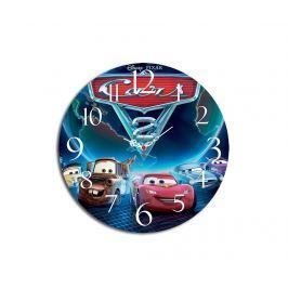 Nástěnné hodiny Cars