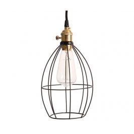 Závěsná lampa Loft Black