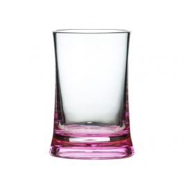 Pohár do koupelny Clear Pink