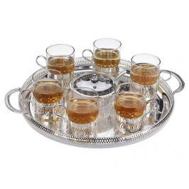 Servírovací sada, 9 dílů Round Tea