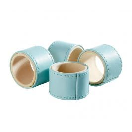 Sada 4 prstenů na ubrousky Baby Blue