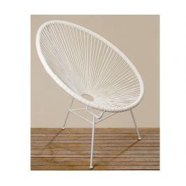 Židle Retro Eddy White