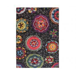 Koberec Colores Mandalas Black 160x230 cm