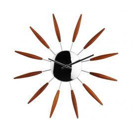 Nástěnné hodiny Deco Brown