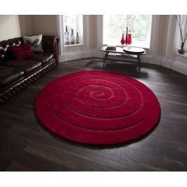 Koberec Spiral Red 180cm