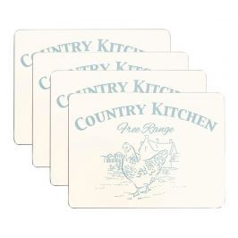 Sada 4 prostírání Country Kitchen 22x29 cm