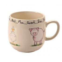 Hrnek Home Farm Pig and Duck 400 ml Servírování čaje & kávy