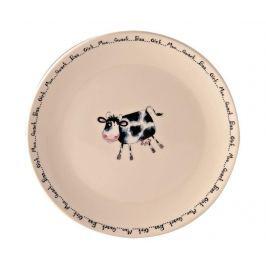 Mělký talíř Home Farm Cow