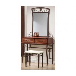 Sada toaletní stolek a taburet Sophia Stolky & Konferenční stolky
