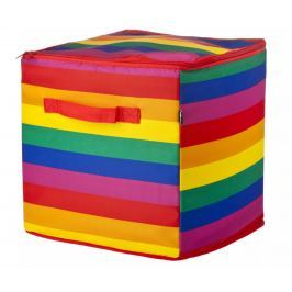 Skládací koš s víkem Rainbow Kiss