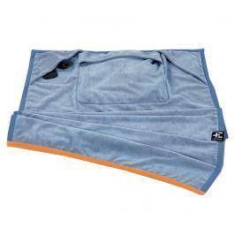 Plážová osuška One Blue 90x180 cm Koupelnové ručníky