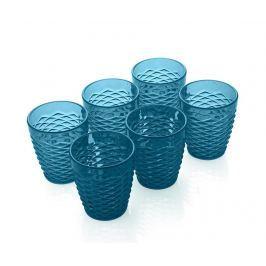 Sklenice Summer Pop Turquoise 300 ml Sklenice