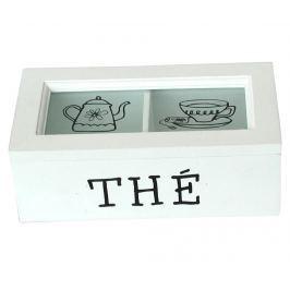 Krabice s víkem na čaj Tea Dózy na potraviny & nádoby
