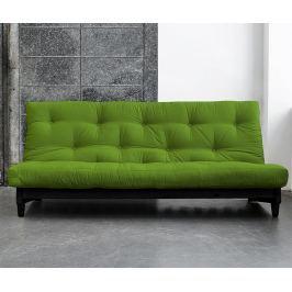Rozkládací pohovka Fresh Wenge & Lime 140x200 cm