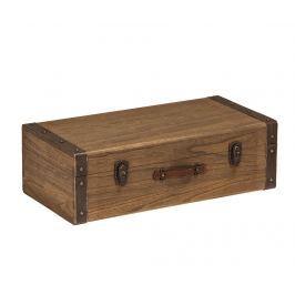 Dekorační cestovní kufr Village Dekorační krabice & špěrkovnice