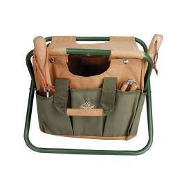Skládací židlička s držákem na nářadí Country Zahradní příslušenství
