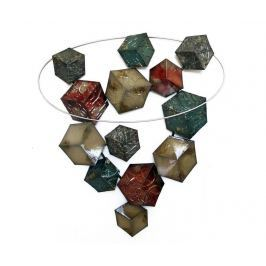 Nástěnná dekorace Beaux Arts 3D Cubes